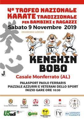 Karate Alfieri al Trofeo KENSHIN BOBO di Casale Monferrato