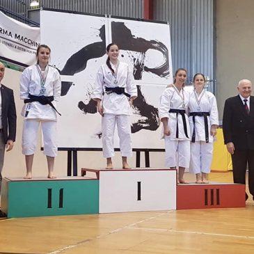 Valentina Curatella porta karate Alfieri sul podio del Trofeo delle Regioni