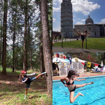 karate Alfieri non si ferma mai, nemmeno in vacanza…
